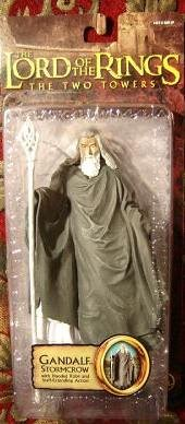Toy Biz Gandalf Stormcrow with Hooded Robe and Staff-Exte...