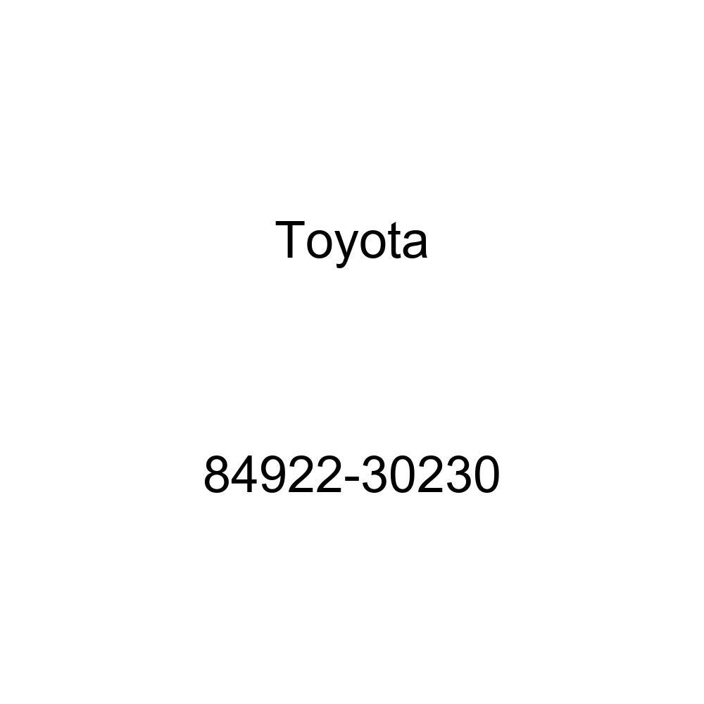 Toyota 84922-30230 Power Seat Switch