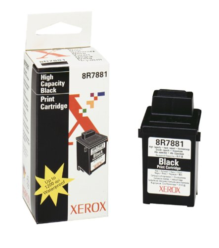 - Xerox 8R7881 Black Inkjet Cartridge