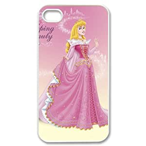 Custom Sleeping Beauty Cover Case for iPhone 4 4s EQP-1484