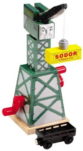 Thomas & Friends Wooden Railway by Learning Curve - Cranky the Crane (Thomas And Friends Wooden Railway Cranky The Crane)