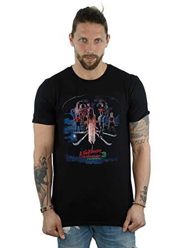 Nightmare On Elm Street Men's Dream Warriors T-Shirt Medium -