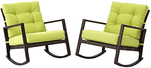 Patiomore Outdoor Rocking Chair 2 Piece Patio