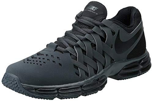 Nike Men's Lunar Fingertrap Cross Trainer, Anthracite/Black, 12.0 Regular US