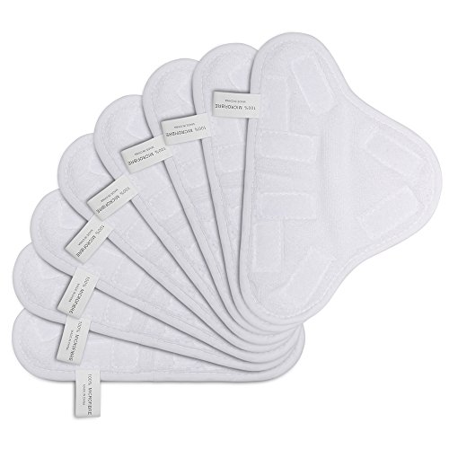 HIFROM TM New 8pcs Replacement Pads For H2O H20 X 5 Steam Mop Cleaner Floor Washable Microfibre Pads - New Mop