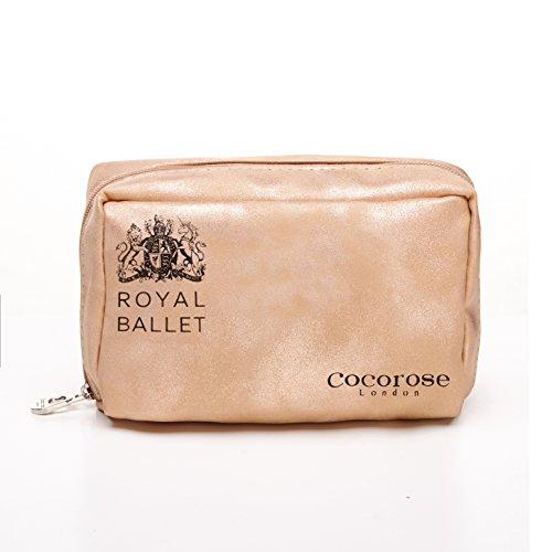 Donna Royal Pieghevoli Soho Oro Cocorose Rosa Ballerine Scarpe O1ZfZxn8