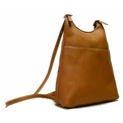 Tan Leather Backpack - 4