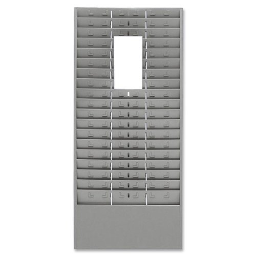 STEELMASTER Steel Time Rack with Adjustable Dividers, 5 Inch Pockets, 13.63 x 30 x 2 Inches, Gray (27018JTRGY) by STEELMASTER