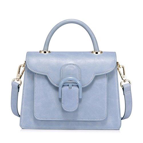 Bolso de Hombro de la Sra. Korean PU Leather Messenger