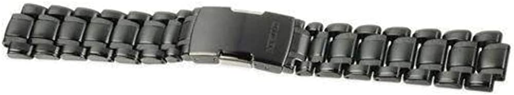 Authentic Citizen Watch Bracelet Stainless Steel Black and Grey 59-S04068