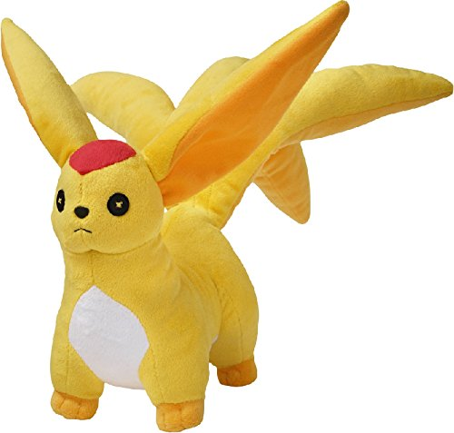 FINAL FANTASY XIV Heavensward Plush Toy Carbuncle Topaz w/DLC Code [Japan Import]