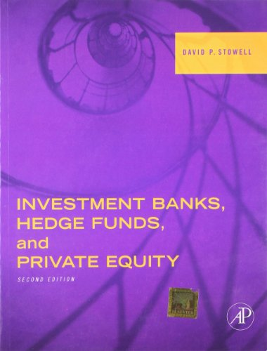Investments Banks  Hedge Funds  And Private Equity