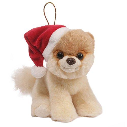 GUND Itty Bitty Boo Dog Holiday Stuffed Animal Plush Ornament, 5