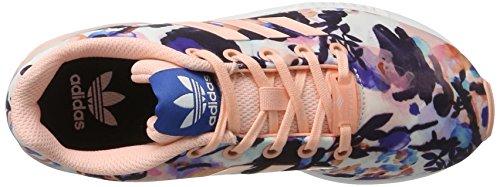 adidas Zx Flux, Zapatillas para Niños Rosa (Haze Coral/haze Coral/ftwr White)
