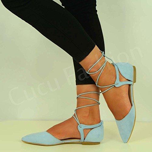 Cucu Fashion - Zapatos de tacón  mujer Azul - azul