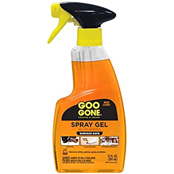 goo gone adhesive remover spray gel 12 fl oz 6 pack health personal care. Black Bedroom Furniture Sets. Home Design Ideas