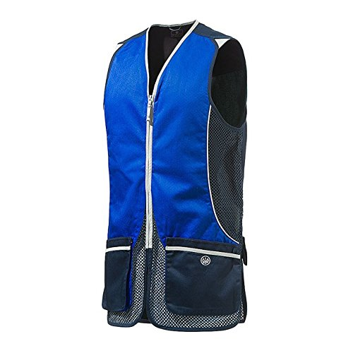Men's Beretta Sporting Clays Skeet Trap Shooting Vest XXX-Large Blue
