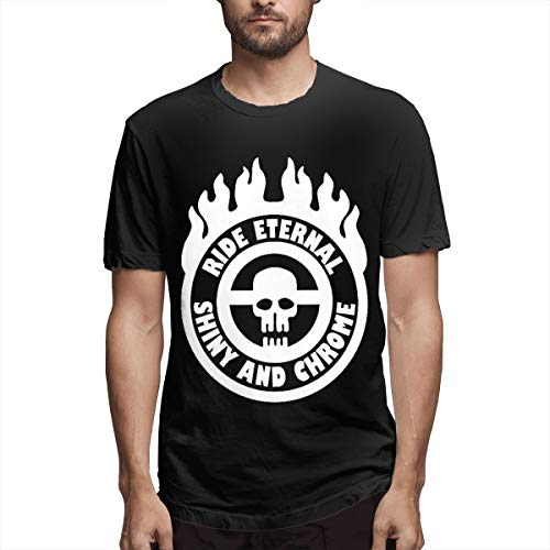 Smooffly Mens MAD Max Fury Road Crew Neck Short Sleeve T Shirt Black (Mad Max Fury Road Blu Ray Release)