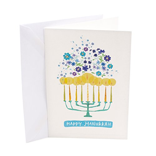 Hallmark UNICEF Hanukkah Boxed Cards (Menorah Candles, 12 Hanukkah Greeting Cards and 13 Envelopes) Photo #7