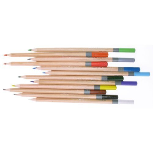- Daler Simply Coloured Pencils - 12 Assorted
