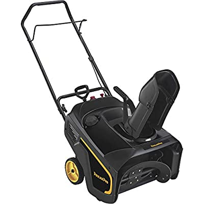 Poulan Pro Single-Stage Electric Start Snow Blower — 21in, 208cc