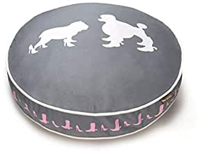 PET P.L.A.Y Heels and Boots Round Bed, Gray PY0001BMF