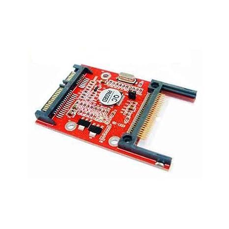 CF Compact Flash Tipo I/II A Serial SATA Adaptador: Amazon.es ...