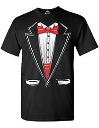 Classic Tuxedo T Shirt Party Costume Shirts