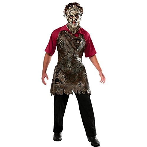 Rubie's Costume The Texas Chainsaw Massacre Deluxe Leatherface Butcher's Apron, Tan, One -
