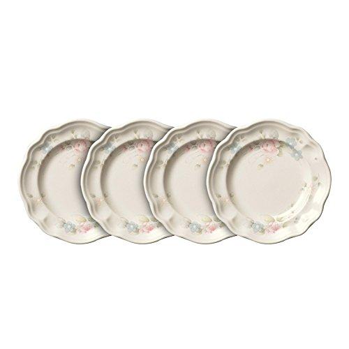 (Pfaltzgraff Tea Rose Dessert Plates, Set of)