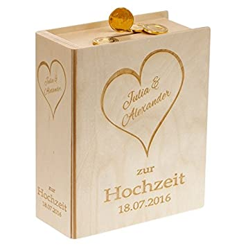 Amazon De Geschenke 24 Schones Sparbuch Zur Hochzeit Mit