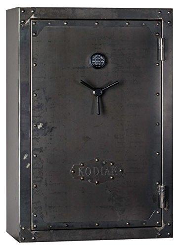 (Kodiak Strong Box KSB5940EX-SO Gun Safe, 38 Long Guns & 8 Handguns, 723 lbs, 60 Minute Fire Protection, Patented Swing Out Gun Rack, Electronic Lock and Bonus Deluxe Door)