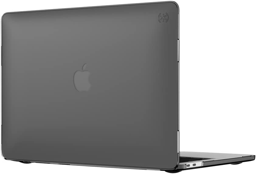 "Speck Products 90206-0581 SmartShell Case for MacBook Pro 13"" with and Without Touch Bar, Onyx Black Matte"