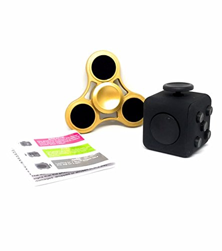 The-High-Speed-Gold-Brass-Tri-Spinner-Toy-Stress-Reducer-With-Bearing-Hand-Fidget-With-Fidget-Cube-Bundle-Best-for-ADHD-Anxiety-Autism-Boredom-Killing-Time-For-Adults-Children