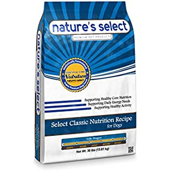 Nature's Select Classic Recipe - Chicken & Rice All Stages Dry Dog Food (30 Lbs)