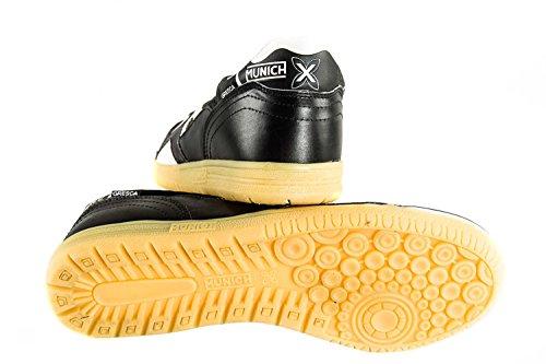 Scarpe calcetto MUNICH GRESCA COLOR 32 scarpetta nera N.36 X2164