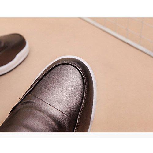 Btrada Womens Sneakers Nascoste Con Tacco A Zeppa - Scarpe Da Passeggio Sportive Casual Con Tomaia In Alto Grigio