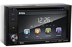 BOSS Audio BV9362BI Double Din, Touchscreen, Bluetooth, DVD/CD/MP3/USB/SD AM/FM Car Stereo, 6.2 Inch Digital LCD Monitor, Wireless Remote
