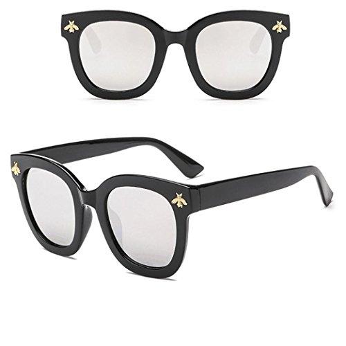 Rétro 400 Homme Lennon Lunettes Vintage YC Protection Big Dream Retro Lunettes UV Soleil Fathoit Femmes Fashion Eyewear Soleil Frame De B Girl Bees De 0HwvqF
