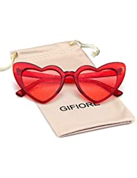 8ad785ca717a9 Clout Goggle Heart Sunglasses Vintage Cat Eye Mod Style Retro Kurt Cobain  Glasses