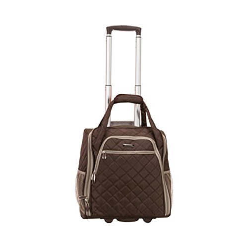 """The Brown Rockland Unisex 15"""" Melrose Wheeled Underseat Carr"""