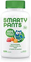 SmartyPants Kids Complete Fiber Multivitamin Omega 3 EPA and DHA