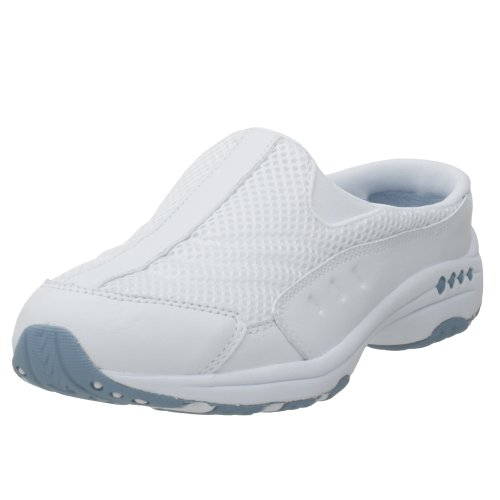 Spirit White Light Women's Blue Traveltime Easy Mule d8R0qdO