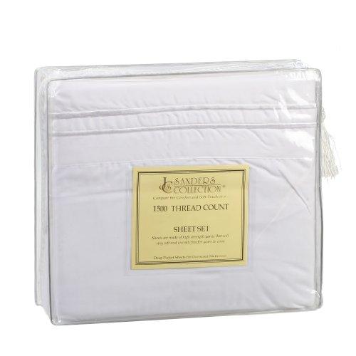 1500 Split King sheet White