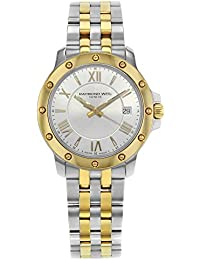 Tango 39mm Two Tone Silver Dial Steel Quartz Mens Watch 5599-STP-00657 (Certified Pre-Owned)