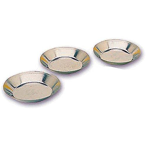 Matfer Bourgeat Tinplate Small Tart Pan, Smooth Sides, 2.75'', 25PK 343546 by Matfer Bourgeat
