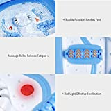 Giantex Heated Foot Spa Bath Massager Collapsible