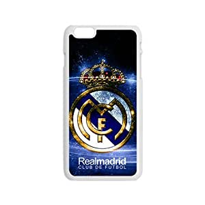Realmadrid Club Of Futbol Fashion Comstom Plastic case cover For Iphone 5/5S
