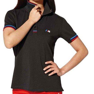 41d9102609c Amazon.com  BMW Genuine Wordmark Embroideres Ladies  M Polo Shirt  Anthracite L Large  Automotive