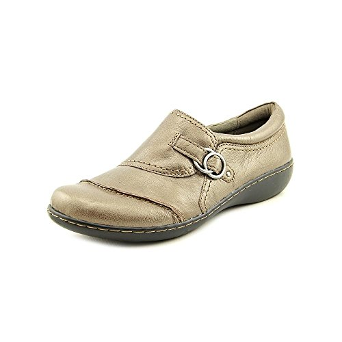 Clarks Ashland Indigo Casual Loafers 9 M, Pewter